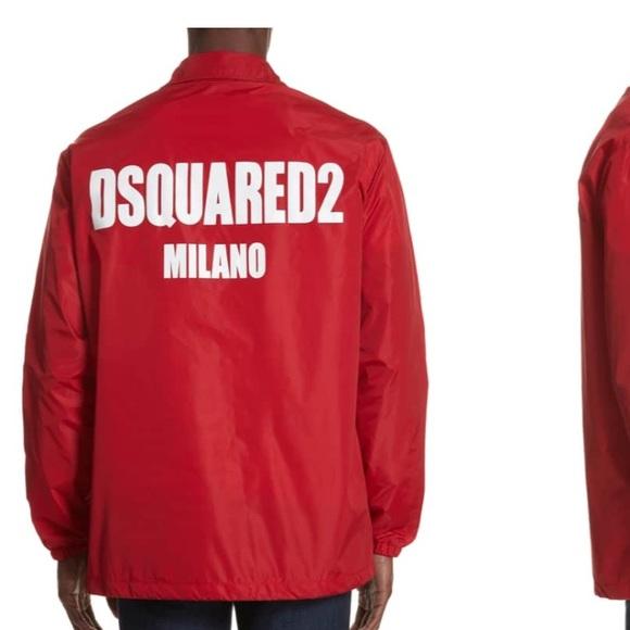 5f643bc5b DSQUARED2 NWT logo coach jacket seen on Gucci mane. NWT. DSQUARED. $100  $950. Size. Eu 48